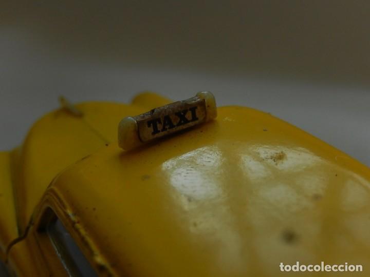 Coches a escala: Chevrolet 1950. Sedan Taxi. Ref. 4509. Solido. Francia. Años 1970 / 80. - Foto 8 - 194121222