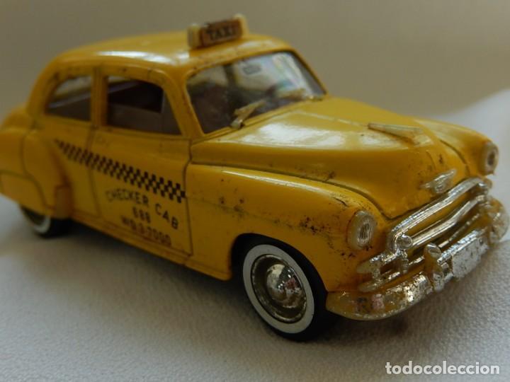Coches a escala: Chevrolet 1950. Sedan Taxi. Ref. 4509. Solido. Francia. Años 1970 / 80. - Foto 12 - 194121222