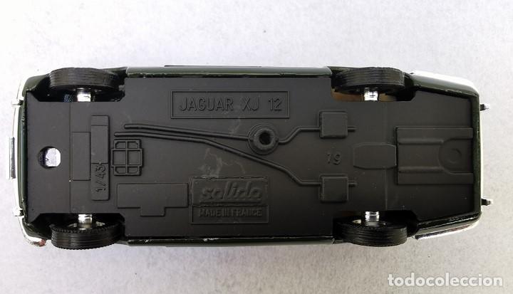Coches a escala: Jaguar XJ 12 de la colección Coches Inolvidables, Solido (Salvat), año 2001, escala 1/43 - Foto 10 - 195873585