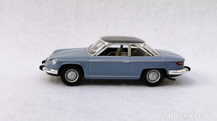 Coches a escala: Panhard 24 CT 1964 de la colección Coches Inolvidables, Solido (Salvat), año 2001, escala 1/43 - Foto 3 - 196042916