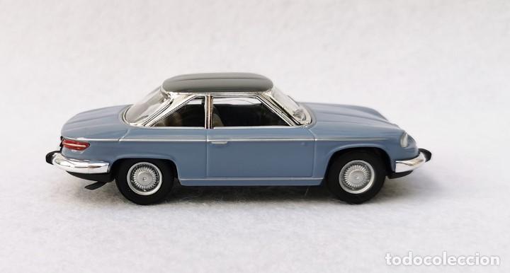 Coches a escala: Panhard 24 CT 1964 de la colección Coches Inolvidables, Solido (Salvat), año 2001, escala 1/43 - Foto 7 - 196042916