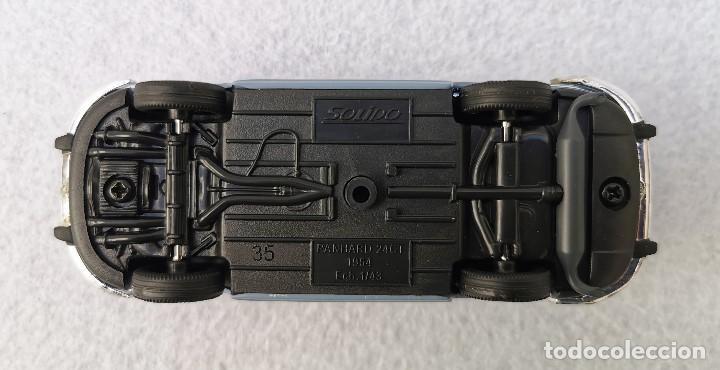Coches a escala: Panhard 24 CT 1964 de la colección Coches Inolvidables, Solido (Salvat), año 2001, escala 1/43 - Foto 10 - 196042916