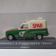 Coches a escala: RENAULT 4 FURGONETA SPAR. Lote 197136555