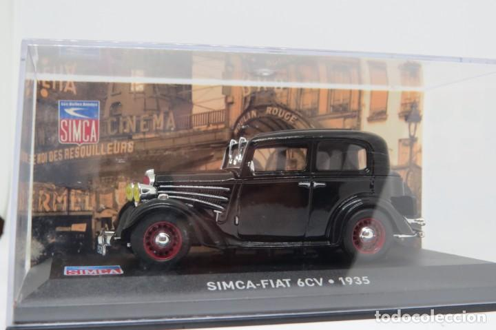 SIMCA FIAT 6CV 1935 (Juguetes - Coches a Escala 1:43 Solido)