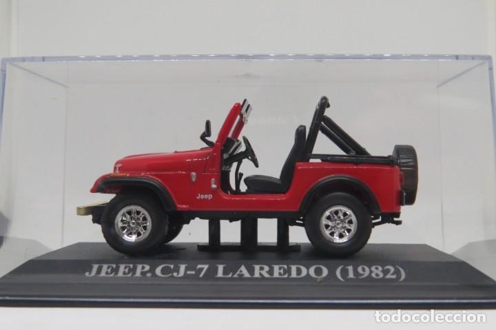JEEP CJ7 LAREDO 1982 (Juguetes - Coches a Escala 1:43 Solido)