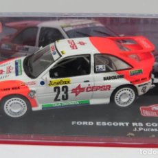 Coches a escala: FOR ESCORT RS COSWORTH. Lote 197147225