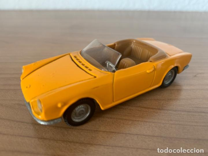 FIAT 124 SPORT POLITOYS MADE IN ITALIA ESCALA 1/43 (Juguetes - Coches a Escala 1:43 Solido)