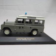 Carros em escala: LAND ROVER 109 DIESEL POLICIA ARMADA 1962. Lote 198563267