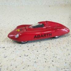 Coches a escala: SÓLIDO 31 REEDICIÓN - FIAT ABARTH 750 PININFARINA 1964 BATERRECORD EN PERFECTO ESTADO. Lote 200197015