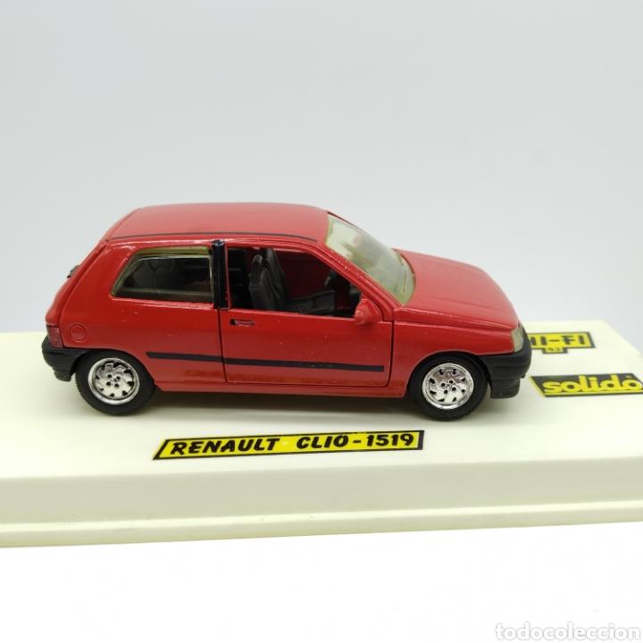 Coches a escala: Renault CLIO de Sólido ref 1519 original año 1990 serie HI-F, no reedición. Esc 1/43. A ESTRENAR - Foto 2 - 200724057