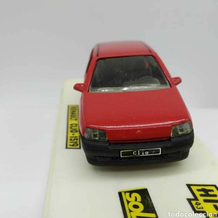Coches a escala: Renault CLIO de Sólido ref 1519 original año 1990 serie HI-F, no reedición. Esc 1/43. A ESTRENAR - Foto 3 - 200724057