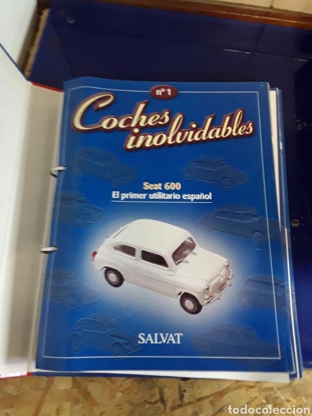 Coches a escala: Coleccion completa de COCHES INOLVIDABLES DE SALVAT (esta completa) - Foto 2 - 201787908