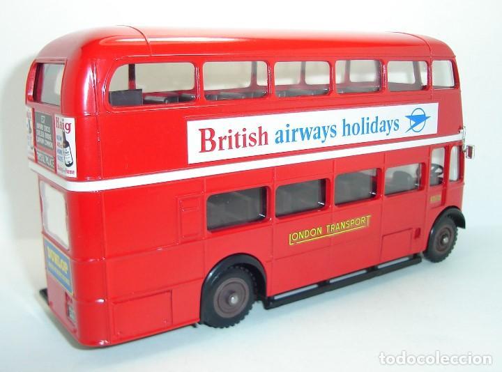 Coches a escala: BUS AUTOBUS DOBLE PISO LONDON TRANSPORT SOLIDO ESCALA 1/50 - Foto 5 - 202775426