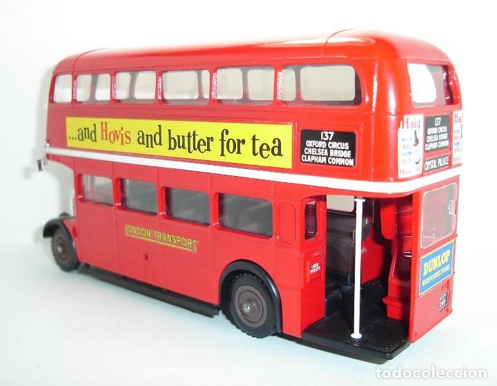 Coches a escala: BUS AUTOBUS DOBLE PISO LONDON TRANSPORT SOLIDO ESCALA 1/50 - Foto 6 - 202775426