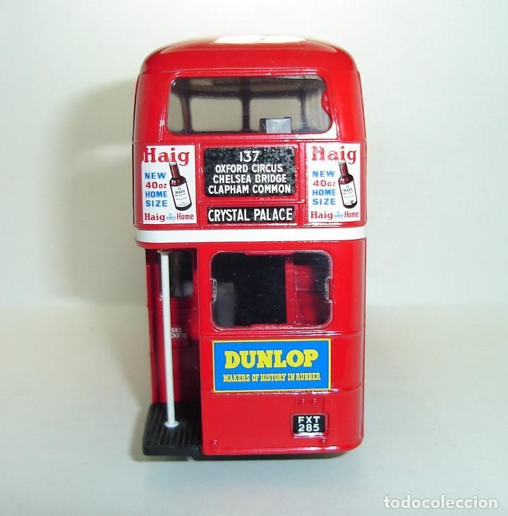 Coches a escala: BUS AUTOBUS DOBLE PISO LONDON TRANSPORT SOLIDO ESCALA 1/50 - Foto 8 - 202775426