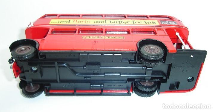 Coches a escala: BUS AUTOBUS DOBLE PISO LONDON TRANSPORT SOLIDO ESCALA 1/50 - Foto 10 - 202775426