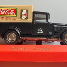 Coches a escala: SOLIDO - 1:43 - COCA-COLA - CITROËN FOURGON. Lote 202997723