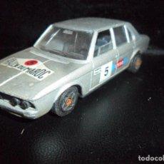 Coches a escala: BMW 530 - 1/43 - SOLIDO AÑOS 80 DIECAST METAL- RALLYE DU MAROC ESSO -. Lote 204383971