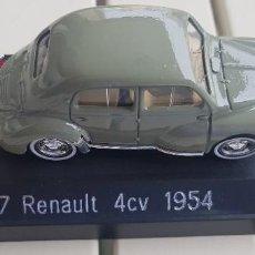 Coches a escala: SOLIDO. REFERENCIA 4149. RENAULT 4CV 1954. CON CAJA DE PLÁSTICO RÍGIDA. Lote 205790781