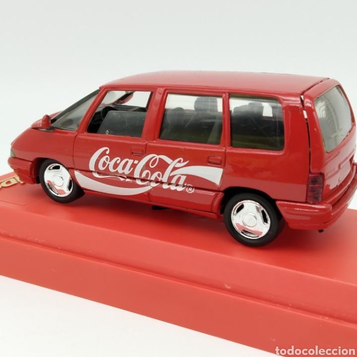 Coches a escala: Renault Espace 1991 edición promocional Coca Cola de Sólido fabricación año 1993 - Foto 2 - 211962091