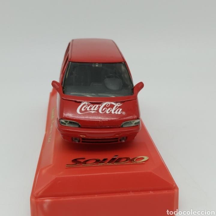 Coches a escala: Renault Espace 1991 edición promocional Coca Cola de Sólido fabricación año 1993 - Foto 4 - 211962091