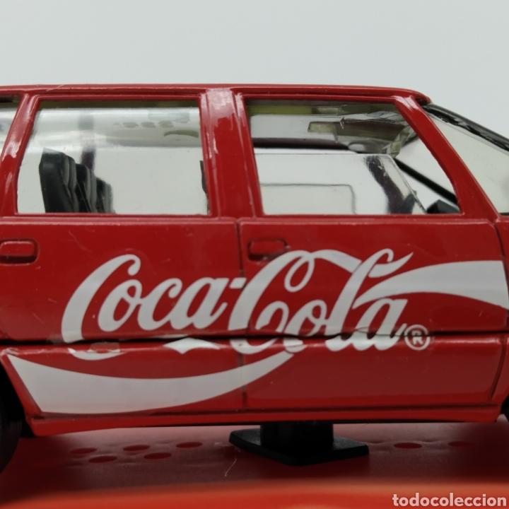 Coches a escala: Renault Espace 1991 edición promocional Coca Cola de Sólido fabricación año 1993 - Foto 5 - 211962091