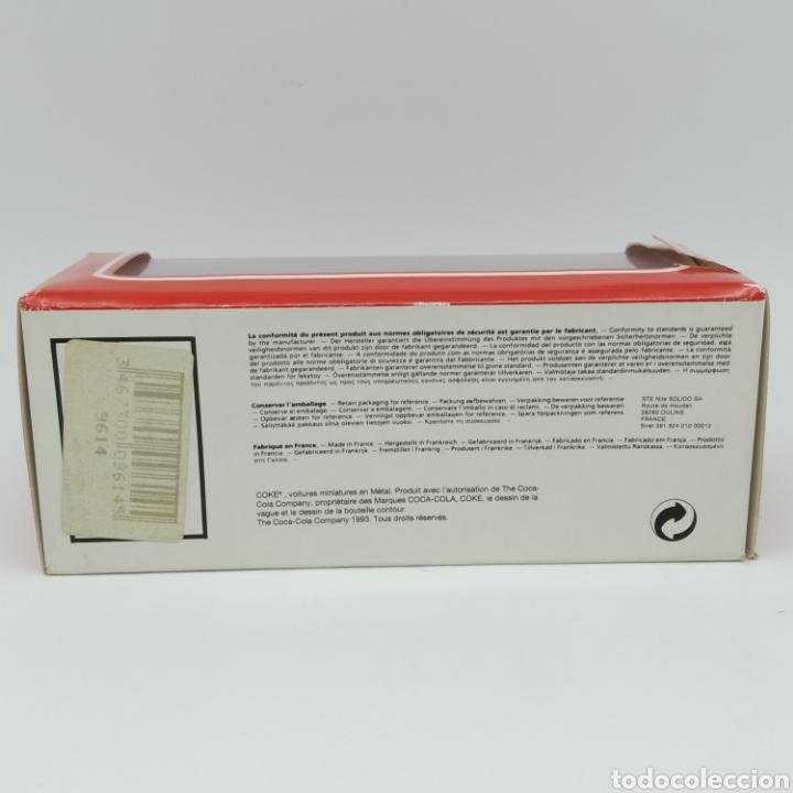 Coches a escala: Renault Espace 1991 edición promocional Coca Cola de Sólido fabricación año 1993 - Foto 9 - 211962091
