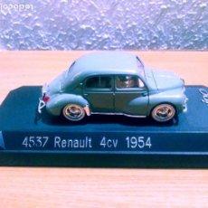 Coches a escala: 4537 RENAULT 4 CV 1954 ( SOLIDO). Lote 212551272