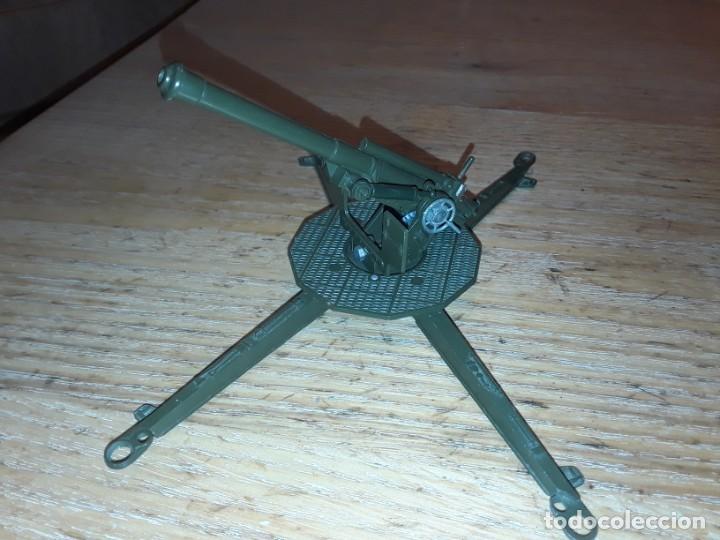 Coches a escala: Solido cañon, funcionando manivela y disparo. - Foto 2 - 212942445