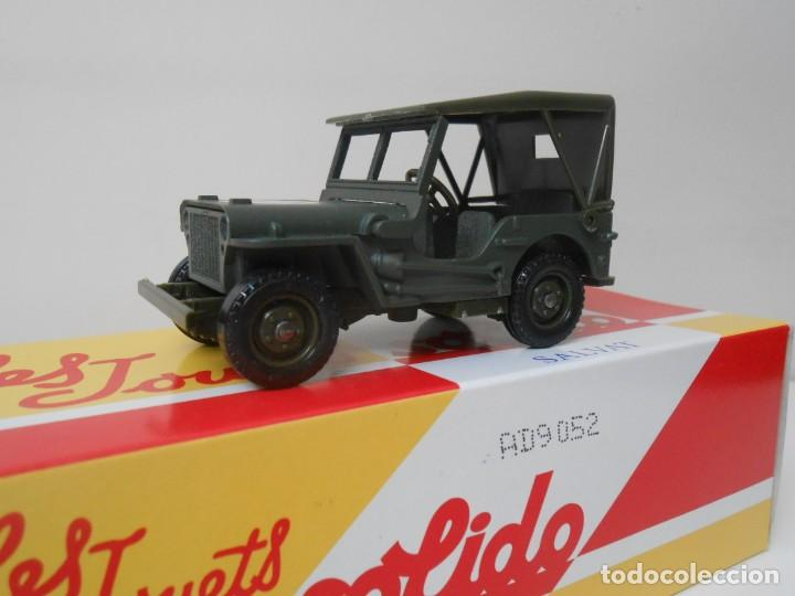 56 COCHE JEEP WILLYS SOLIDO SALVAT CAR 1:43 MINIATURE MADE IN FRANCE US ARMY (Juguetes - Coches a Escala 1:43 Solido)
