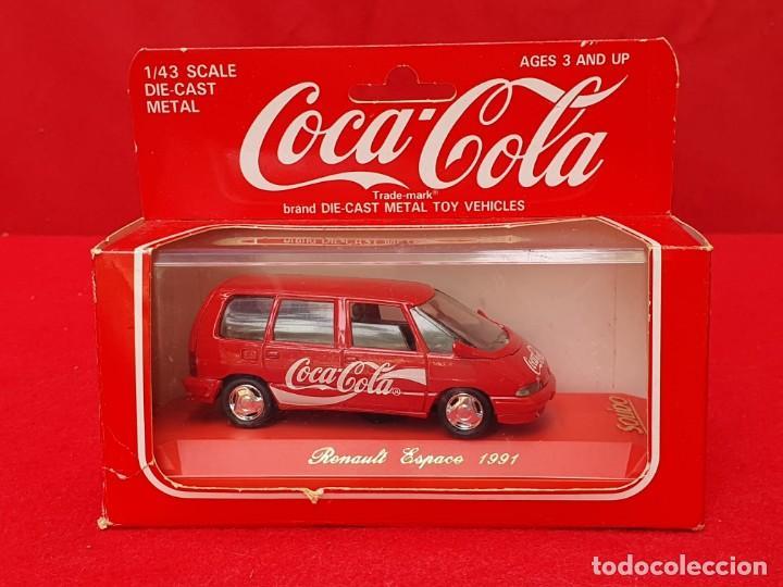 RENAULT ESPACE 1991 COCA-COLA. SOLIDO (Juguetes - Coches a Escala 1:43 Solido)