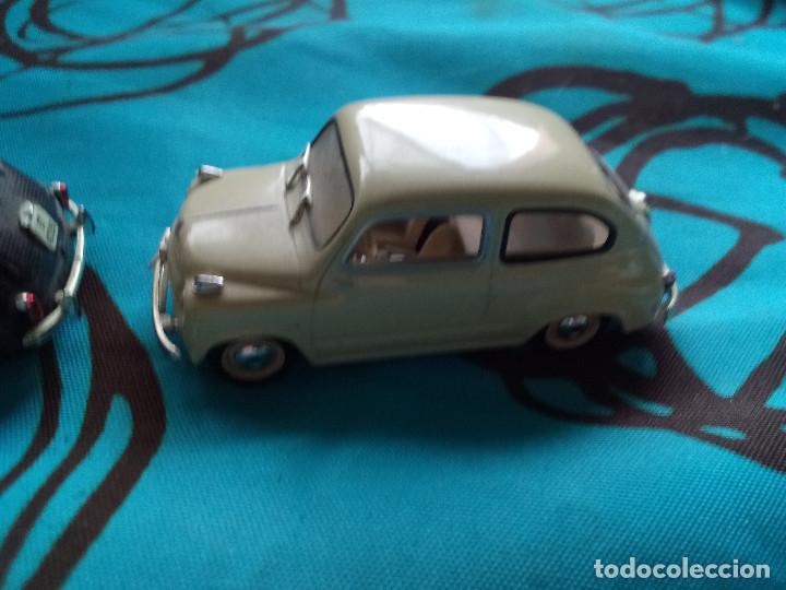 Coches a escala: Coche Solido Seat 600 1957 Color Crema - Foto 2 - 217806080
