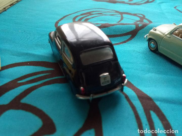SOLIDO SEAT 600D 1969 NEGRO (Juguetes - Coches a Escala 1:43 Solido)