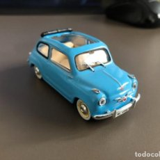 "Coches a escala: VENDO SEAT 600 ""DESCAPOTABLE"" - 1960 DE SOLIDO - .1/43-. Lote 218663175"