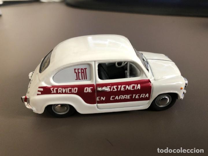 """VENDO SEAT 600 E """"SERVICIO ASISTENCIA"""" - 1970 DE SOLIDO - .1/43- (Juguetes - Coches a Escala 1:43 Solido)"""