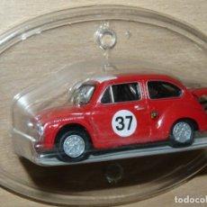 Auto in scala: SOLIDO COCHE FIAT ABARTH JUNCOSA 1967 Nº 37 ROJO ESCALA 1/43 DIECAST METAL CAR 1:43 SEAT 600 SALVAT. Lote 220524222