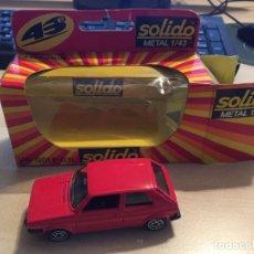 Coches a escala: GOLF GTI MKI SOLIDO 1:43 METAL NUEVO Y EN SU CAJA. Lote 221690525