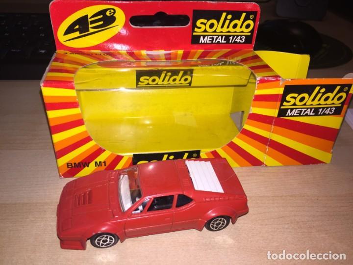 BMW M1 SOLIDO 1:43 METAL NUEVO Y EN SU CAJA (Juguetes - Coches a Escala 1:43 Solido)