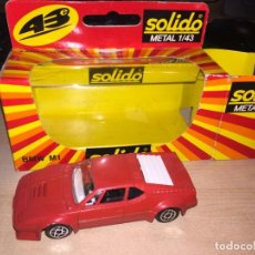Coches a escala: BMW M1 SOLIDO 1:43 METAL NUEVO Y EN SU CAJA. Lote 221690720