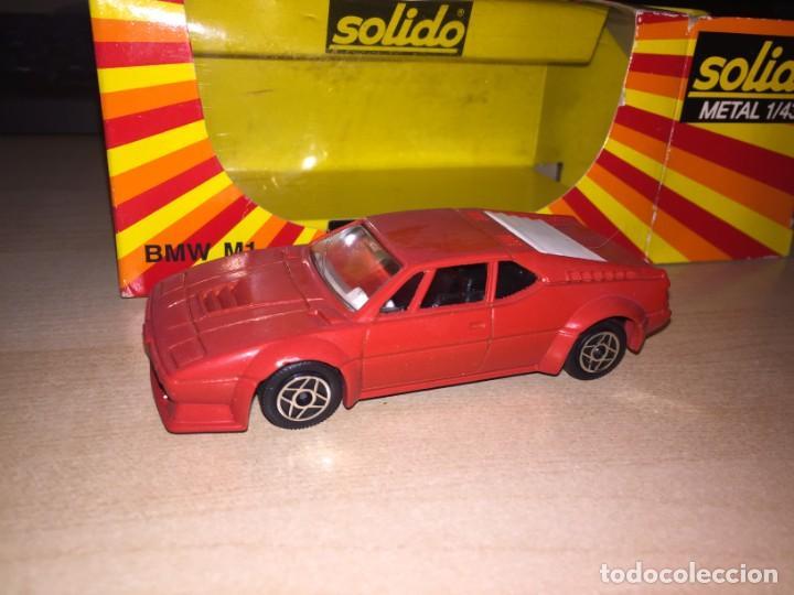Coches a escala: BMW M1 SOLIDO 1:43 METAL NUEVO Y EN SU CAJA - Foto 3 - 221690720