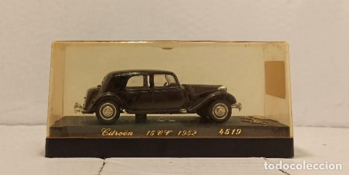 Coches a escala: Coche Solido Escala 1:43 Citroen 15CV (1952) - Foto 2 - 222582882
