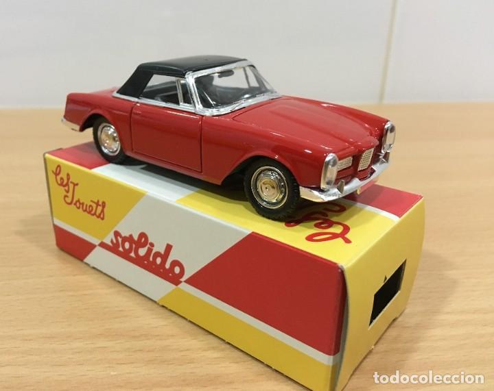 Coches a escala: COCHE SOLIDO Nº 17 (06/88) - AUTO FACEL VEGA 2 (1962), CON CAJA. ESCALA 1/43 - Foto 2 - 222837223
