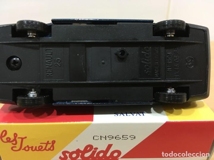 Coches a escala: COCHE SOLIDO Nº 69 / 1504 (03/88) - AUTO RENAULT 25, CON CAJA. ESCALA 1/43 - Foto 5 - 222838472