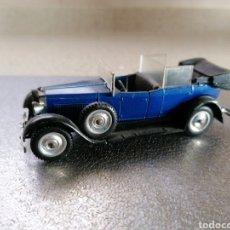 Coches a escala: SOLIDO AGE D'OR - FIAT 525N 1929 FALTA EMBLEMA SOBRE CAPO. RESTO EN BUEN ESTADO. Lote 222964671