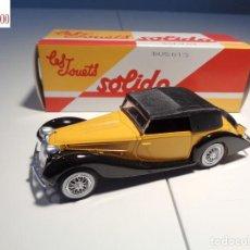 Auto in scala: COCHE DELAHAYE 135M 1939 FIGONI FALASCHI. ESCALA 1:43. SOLIDO / SALVAT. Lote 224762605