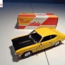 Auto in scala: FORD CAPRI 1969. ESCALA 1:43. SOLIDO / SALVAT. Lote 224776798