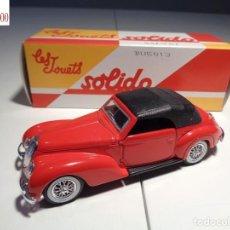 Auto in scala: ALFA ROMEO 6C 2500 SPORT - 1939. ESCALA 1:43. SOLIDO / SALVAT. Lote 225051565