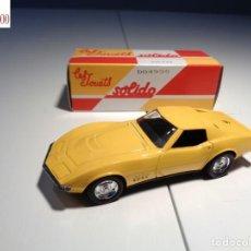 Auto in scala: CHEVROLET CORVETTE 68. ESCALA 1:43. SOLIDO / SALVAT. Lote 225191732