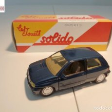 Auto in scala: RENAULT CLIO. ESCALA 1:43. SOLIDO / SALVAT. Lote 225718195