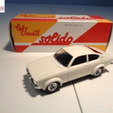 Auto in scala: OPEL KADETT COUPE GTE. ESCALA 1:43. SOLIDO / SALVAT. Lote 237334990